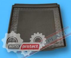 Фото 1 - TM Rezaw-Plast Коврики в багажник Chevrolet Cruze 2009-> резино-пластиковые, хетчбэк, черный, 1шт