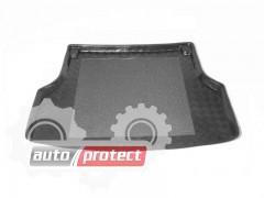 Фото 1 - TM Rezaw-Plast Коврики в багажник Chevrolet Lacetti 2004-> резино-пластиковые, комби, черный, 1шт