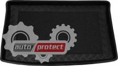 Фото 1 - TM Rezaw-Plast Коврики в багажник Chevrolet Spark 2005 - 2010-> резино-пластиковые, черный, 1шт