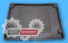 Фото 1 - TM Rezaw-Plast Коврики в багажник Citroen Berlingo 2008 -> резино-пластиковые, пассажирский 5-ть мест, черный
