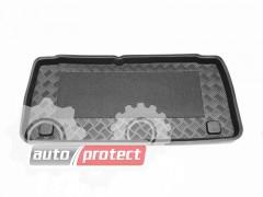 Фото 1 - TM Rezaw-Plast Коврики в багажник Citroen C2 2004 -> резино-пластиковые, черный, 1шт