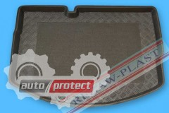Фото 1 - TM Rezaw-Plast Коврики в багажник Citroen C3 2009 -> резино-пластиковые, черный, 1шт