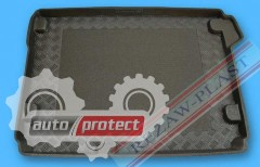 Фото 1 - TM Rezaw-Plast Коврики в багажник Citroen C4 2010-> резино-пластиковые, черный, 1шт