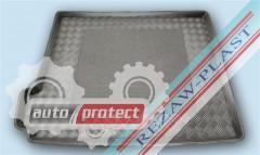Фото 1 - TM Rezaw-Plast Коврики в багажник Citroen C4 Grand Picasso 2013-> резино-пластиковые, 7мь мест, черный
