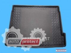 Фото 1 - TM Rezaw-Plast Коврики в багажник Citroen C5 2001-2008-> резино-пластиковые, хетчбэк, черный, 1шт