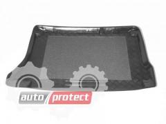 Фото 1 - TM Rezaw-Plast Коврики в багажник Daewoo Lanos / Sens 1996-> резино-пластиковые, хетчбэк, черный, 1шт