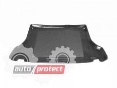 Фото 1 - TM Rezaw-Plast Коврики в багажник Daewoo Lanos / Sens 1997-> резино-пластиковые, седан, черный, 1шт