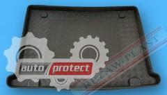 Фото 1 - TM Rezaw-Plast Коврики в багажник Fiat Doblo 2009 -> резино-пластиковый, 5-ти местный, черный 1шт