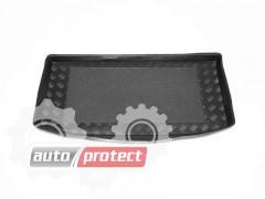 Фото 1 - TM Rezaw-Plast Коврики в багажник Fiat Panda 2003-2012-> резино-пластиковый, черный 1шт