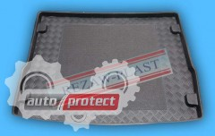Фото 1 - TM Rezaw-Plast Коврики в багажник Ford Focus 2005-2011-> резино-пластиковые, комби, черный, 1шт