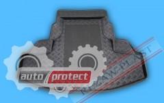 Фото 2 - TM Rezaw-Plast Коврики в багажник Honda Accord 2008-> резино-пластиковые, комби, черный, 1шт