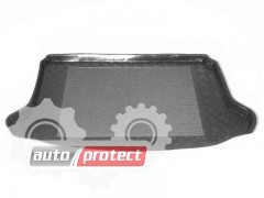 Фото 2 - TM Rezaw-Plast Коврики в багажник Honda Civic 2000-2006-> резино-пластиковые, хетчбэк 3-дв., черный