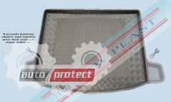 Фото 1 - TM Rezaw-Plast Коврики в багажник Honda Civic 2006-> резино-пластиковые, хетчбэк 3/5дв, черный