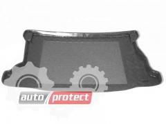Фото 1 - TM Rezaw-Plast Коврики в багажник Honda Jazz 2002-2008-> резино-пластиковые, черный, 1шт