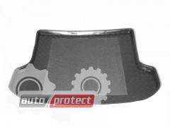Фото 1 - TM Rezaw-Plast Коврики в багажник Honda Stream 2001-> резино-пластиковые, черный, 1шт