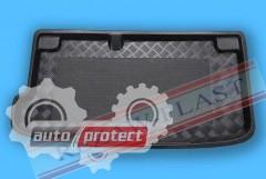 Фото 1 - TM Rezaw-Plast Коврики в багажник Hyundai i10 2013-> резино-пластиковые, хетчбэк, черный, 1шт