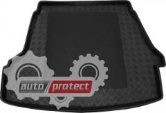 Фото 1 - TM Rezaw-Plast Коврики в багажник Hyundai Sonata 2004-2010-> резино-пластиковые, черный, 1шт