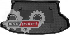 Фото 1 - TM Rezaw-Plast Коврики в багажник Hyundai Tucson 2004-2010-> резино-пластиковые, черный, 1шт