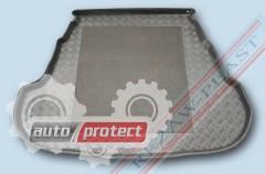 Фото 1 - TM Rezaw-Plast Коврики в багажник Kia Optima 2011 / Magentis 2012 -> резино-пластиковый, седан, черный