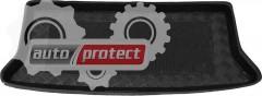Фото 1 - TM Rezaw-Plast Коврики в багажник Kia Picanto 2004-2011-> резино-пластиковый,  хэтчбек, черный