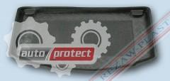 Фото 1 - TM Rezaw-Plast Коврики в багажник Kia Picanto 2011 -> резино-пластиковый, хэтчбек, черный