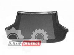 Фото 1 - TM Rezaw-Plast Коврики в багажник Kia Rio 2000-2006-> резино-пластиковый, хетчбэк, черный