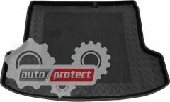 Фото 1 - TM Rezaw-Plast Коврики в багажник Kia Rio 2005-2011-> резино-пластиковый, хетчбэк, черный