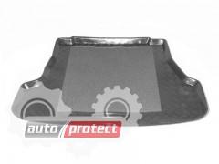 Фото 1 - TM Rezaw-Plast Коврик в багажник Kia Sephia 1994 -> седан, резино-пластиковый, черный