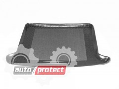 Фото 1 - TM Rezaw-Plast Коврики в багажник Kia Sportage 1991-2004-> резино-пластиковый, черный