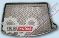 Фото 2 - TM Rezaw-Plast Коврики в багажник Mazda 3 (I) 2003-2009-> резино-пластиковые, хетчбэк, черные, 1шт