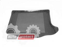 Фото 1 - TM Rezaw-Plast Коврики в багажник Mazda 3 (I) 2003-2009-> резино-пластиковые, хетчбэк, черные, 1шт