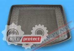 Фото 2 - TM Rezaw-Plast Коврики в багажник Mazda 3 (II) 2009 -> резино-пластиковые, хетчбэк, черные, 1шт