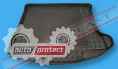 Фото 1 - TM Rezaw-Plast Коврики в багажник Mazda 3 (II) 2009 -> резино-пластиковые, хетчбэк, черные, 1шт