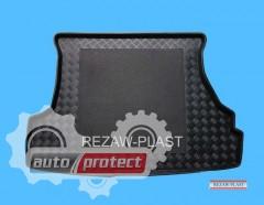 Фото 1 - TM Rezaw-Plast Коврики в багажник Mazda 323 1998-2003-> резино-пластиковые, хетчбэк 5-дв., черный