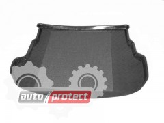 Фото 2 - TM Rezaw-Plast Коврики в багажник Mazda 6 2002-2007-> резино-пластиковые, хетчбэк, черные, 1шт