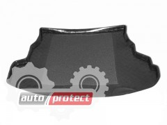 Фото 1 - TM Rezaw-Plast Коврики в багажник Mazda 6 2002-2007-> резино-пластиковые, хетчбэк, черные, 1шт