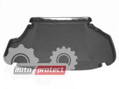 Фото 1 - TM Rezaw-Plast Коврики резино-пластиковый в багажник Mazda 626 1997-2002-> резино-пластиковые, комби, черные, 1шт