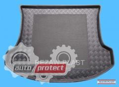 Фото 1 - TM Rezaw-Plast Коврики в багажник Mazda CX-7 2007-> резино-пластиковые, черные, 1шт