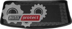 Фото 1 - TM Rezaw-Plast Коврики в багажник Mitsubishi Colt  9 2004-2009-> резино-пластиковые, хетчбэк 5-дв., черные