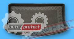 Фото 2 - TM Rezaw-Plast Коврики в багажник Mitsubishi Colt  9 2009 -> резино-пластиковые, хетчбэк 3-дв., черные