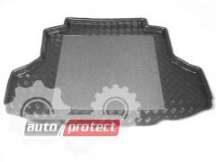Фото 1 - TM Rezaw-Plast Коврики в багажник Mitsubishi Lancer  9 2004-2007-> резино-пластиковые, седан, черные, 1шт