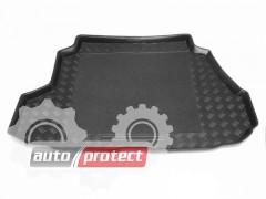 Фото 1 - TM Rezaw-Plast Коврики в багажник Nissan Almera N15 1995-2000-> резино-пластиковый, седан, черный