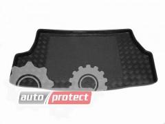 Фото 1 - TM Rezaw-Plast Коврики в багажник Nissan Almera N16 2000-2006-> резино-пластиковый, седан, черный