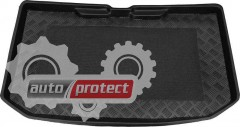 Фото 1 - TM Rezaw-Plast Коврик в багажник Nissan Note 2005-2012-> резино-пластиковый, черный