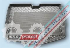Фото 1 - TM Rezaw-Plast Коврики в багажник Nissan Note 2013 -> резино-пластиковый, нижний, черный
