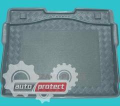 Фото 1 - TM Rezaw-Plast Коврики в багажник Peugeot 207 2006-> резино-пластиковый, комби, черный