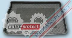 Фото 1 - TM Rezaw-Plast Коврики в багажник Peugeot 208 2012-> резино-пластиковый, черный