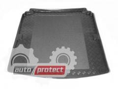 Фото 1 - TM Rezaw-Plast Коврики  в багажник Peugeot 607 2000 -> резино-пластиковый, седан, черный