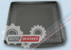 Фото 1 - TM Rezaw-Plast Коврики в багажник Renault Duster 2010 -> резино-пластиковый, 4x4, черный