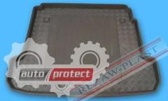 Фото 1 - TM Rezaw-Plast Коврики  в багажник Renault Fluence 2009 -2012-> резино-пластиковый, седан, черный